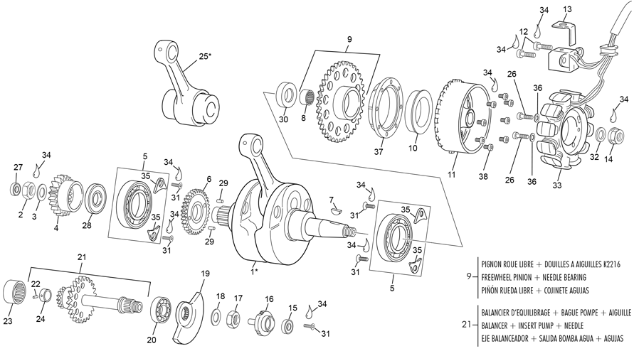 Cranshaft assembly