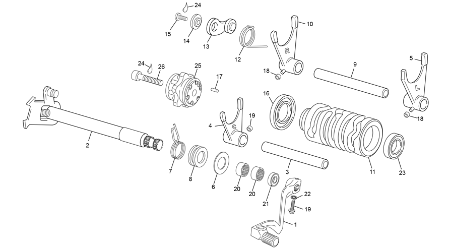 GEAR SELECTOR GROUP