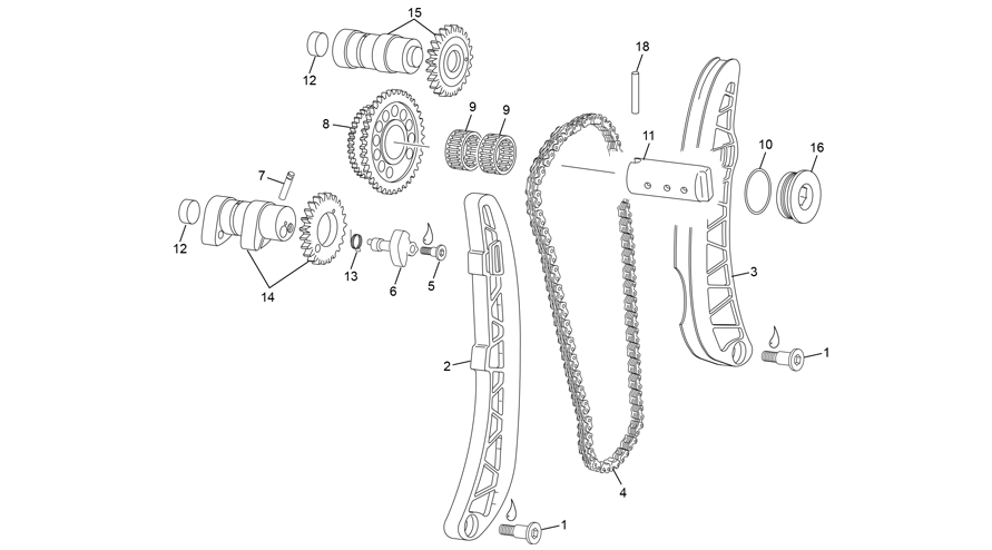 CRAMSHAFT AND DRIVE ASSEMBLY
